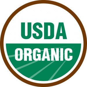 Seal for the USDA Organic Certification