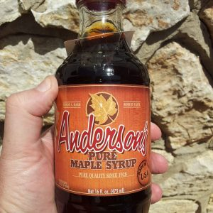 Grade A Non-Organic Maple Syrup 473 mL / 16 ounce glass bottle