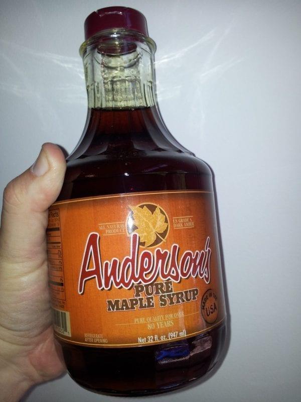 Grade A Non Organic Maple Syrup 947 mL / 32 ounce glass bottle