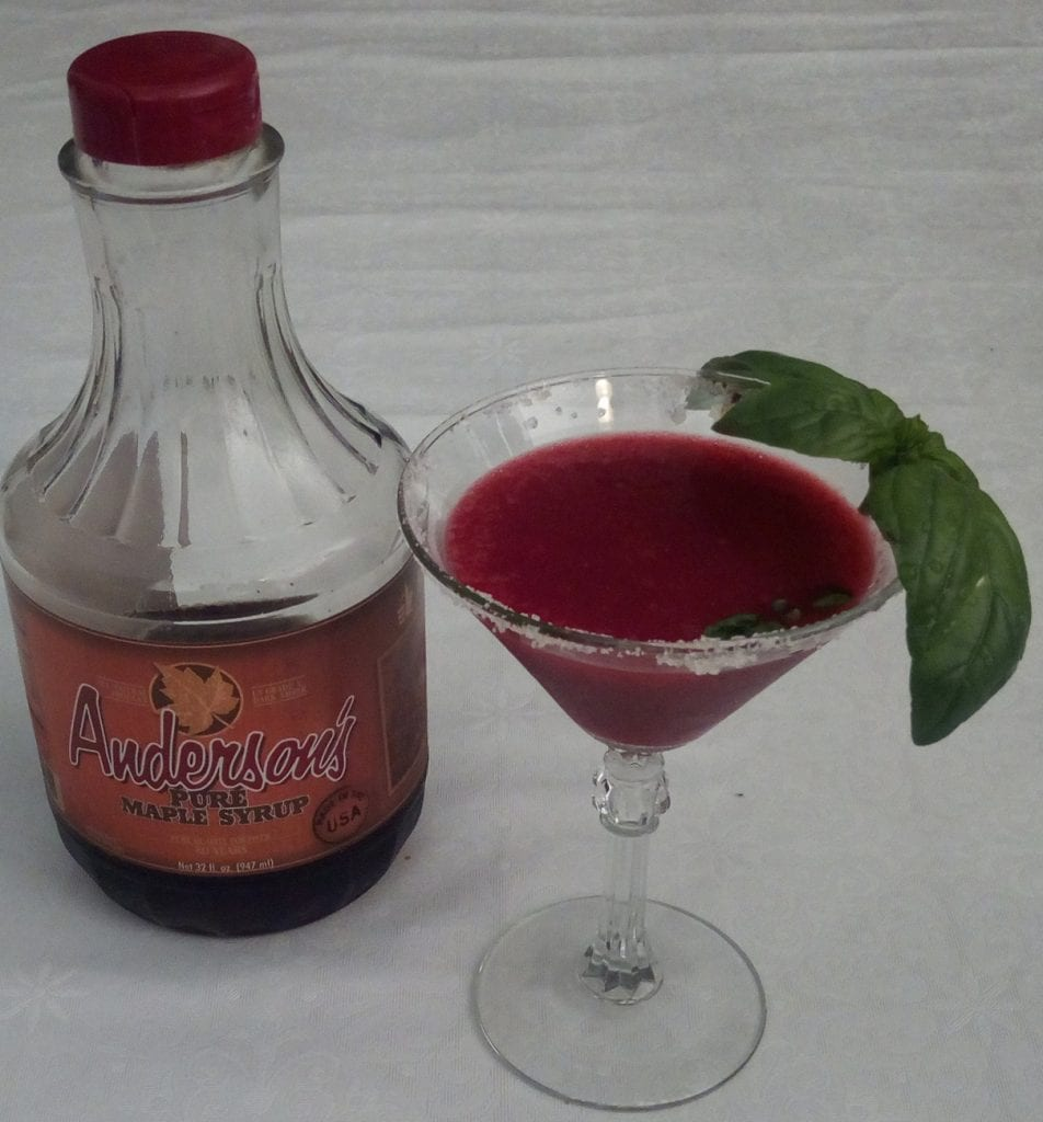 Recipe for Maple Strawberry Margarita